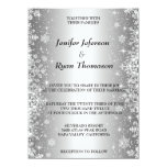 Cute winter wedding Invitation 14 Cm X 19 Cm Invitation Card