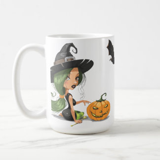 Cute Witch Halloween Coffee Mug