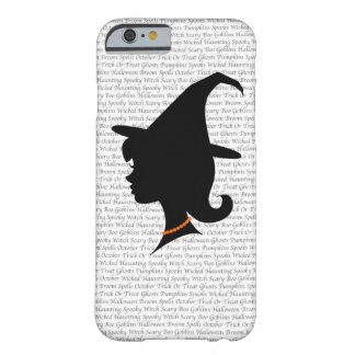 Cute Witch Silhouette iPhone Case
