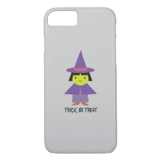 Cute Witch - Trick or Treat iPhone 7 Case