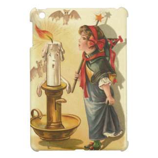 Cute Witch Wand Candle Bats Case For The iPad Mini