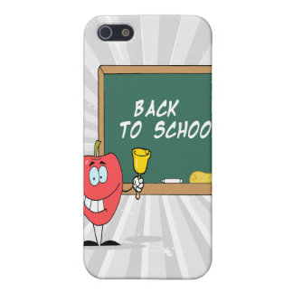 cute with back to school chalkboard cartoon iPhone 5 cover