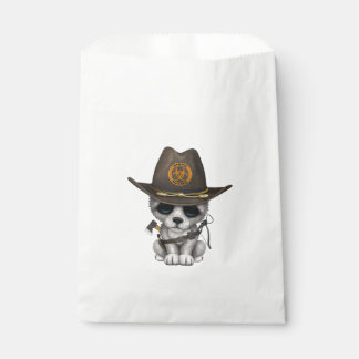 Cute Wolf Cub Zombie Hunter Favour Bag