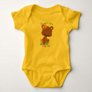 Cute Woodland Bear Cub Baby Bodysuit