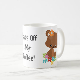 Cute Woodland Bear Cub Coffee Mug
