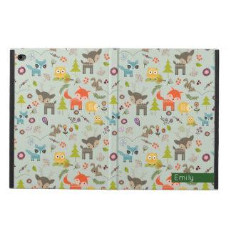 Cute Woodland Creatures Animal Pattern Powis iPad Air 2 Case