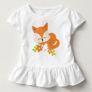 Cute Woodland Spring Animal Fox Kid Toddler T-Shirt