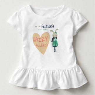 Cute Woodland Winter Animal Bunny Kid Allergy Toddler T-Shirt