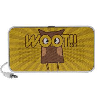 Cute woot owl travel speaker
