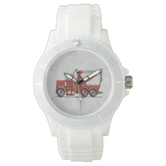 Cute Wrecker Truck Wrist Watch
