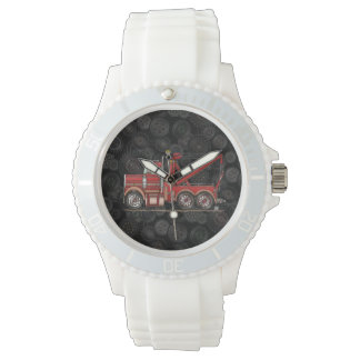 Cute Wrecker Truck Wrist Watches