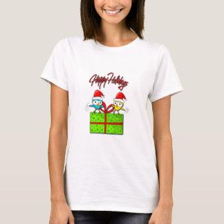 Cute Xmas birds T-Shirt