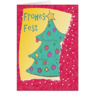 Cute Xmas Tree Card
