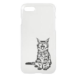 Cute yawing kitten iPhone 8/7 case