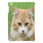 Cute yellow cat iPad mini case