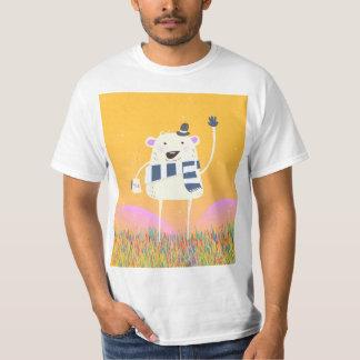 Cute Yeti With a nice hot mug of Tea T-Shirt
