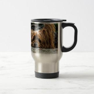 Cute Yorkshire Puppy Travel Mug