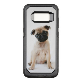 Cute Young Pug Dog OtterBox Commuter Samsung Galaxy S8 Case