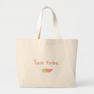 "Cute ""Your tribe"" tote - RODBT"