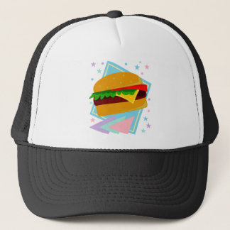 Cute Yummy Burger Trucker Hat