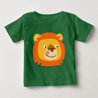 Cute Yummy Cartoon Lion Baby T-Shirt