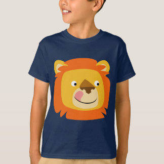 Cute Yummy Cartoon Lion Children T-Shirt