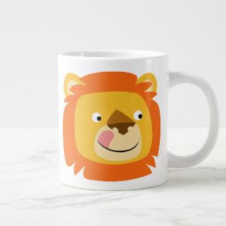 Cute Yummy Cartoon Lion Large Coffee Mug