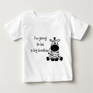 Cute Zebra Big Brother T Shirt