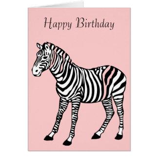 Cute Zebra Greeting Cards