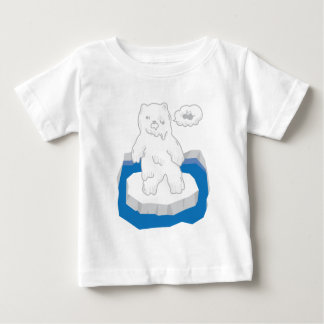 Cute Zombie Bear Baby T-Shirt