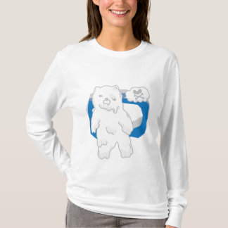 Cute Zombie Bear T-Shirt
