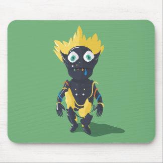 Cute Zombie Character Mousepad