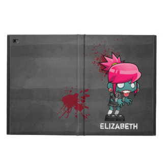 Cute Zombie Girl with Red Splatters Powis iPad Air 2 Case