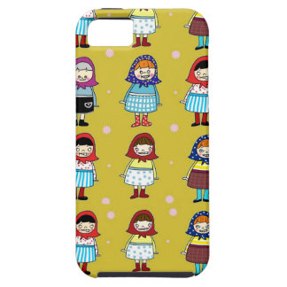 Cute zombie girls with kerchief case for the iPhone 5
