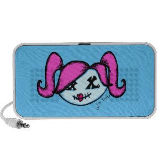 Cute Zombie Laptop Speaker