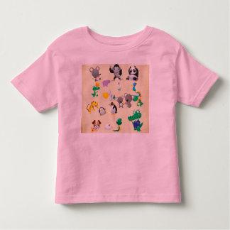 Cute Zoo Animals Toddler Fine Jersey T-Shirt