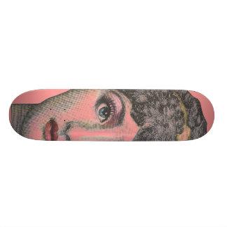 cutegirl 21.6 cm old school skateboard deck