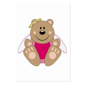 Cutelyn Baby Girl Angel Bear Business Card