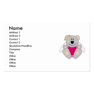 Cutelyn Baby Girl Angel Koala Bear Business Cards