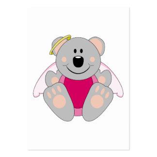 Cutelyn Baby Girl Angel Koala Bear Business Card