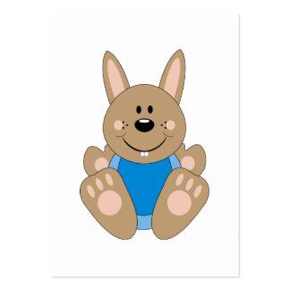 Cutelyn Brown Baby Boy Bunny Business Card