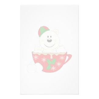 Cutelyn Christmas Mug Polar Bear Stationery