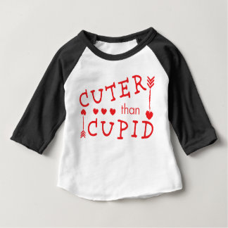 Cuter than Cupid Valentine's Day Baby T-Shirt