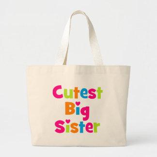 Cutest Big Sister Tote Bag