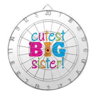 CUTEST BIG SISTER DARTBOARD