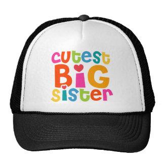 Cutest Big Sister Trucker Hat