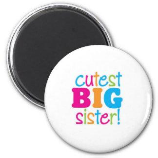 CUTEST BIG SISTER MAGNET