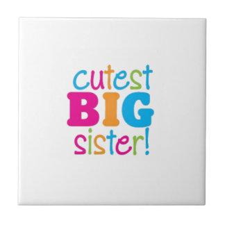 CUTEST BIG SISTER TILE