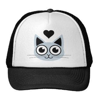 Cutest Blue Cat Trucker Hat