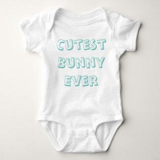Cutest Bunny Ever Baby Bodysuit